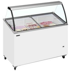 Tefcold IC400SCE Canopy Ice Cream Display Freezer - 9 Tubs