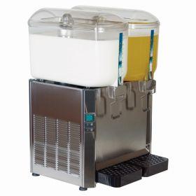 Promek SF224 Milk & Juice Dispenser 2 x 12L