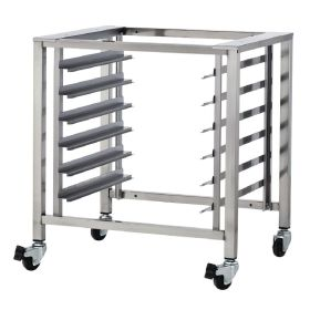 TurboFan Stainless Steel Stand with Castors - For Blue Seal Ovens: E27M2 E27M3 E28M4 E31D4