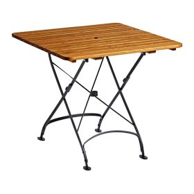 ARCH Square Folding Table Wood Top Outdoor – 80cm x 80cm – ZA.1570CT