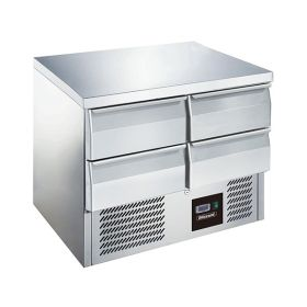 Blizzard BCC2-4D 4 Drawer Compact Gastronorm Counter 240L