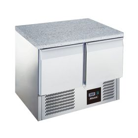 Blizzard BCC2-GR-TOP 240L Refrigerated Prep Counter with Granite Top