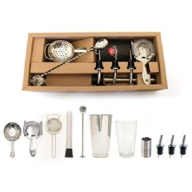 Bonzer Classic Cocktail Bar Kit 12 Pieces - 12563-01