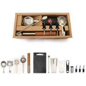 Bonzer Elite Cocktail Bar Kit 15 Pieces - BSBQ0627 / 12572-01