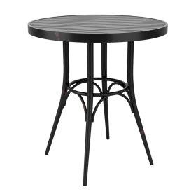 CAFÉ Black Rustic Table Round – ZA.441CT