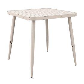 CAFÉ ZA.440CT White Rustic Table Square