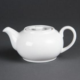 Olympia Whiteware CB473 Teapot 426ml