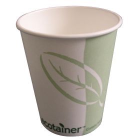 Compostable Hot Cups 340ml / 12oz - Box of 50