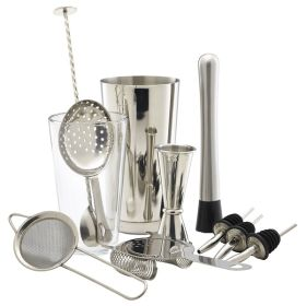 Genware Cocktail Bar Kit 11pcs - CBK1