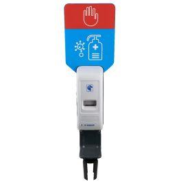 Hand Sanitiser Dispenser For Expandable Barrier Poles - CBS-SAN