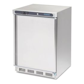 Polar CD081 Undercounter Freezer Stainless Steel 140Ltr