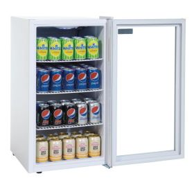 Polar CF750 - Undercounter Display Fridge White