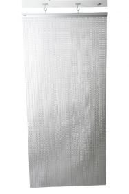 Chain Fly Screen Aluminium 90cm (W) x 200cm (H)