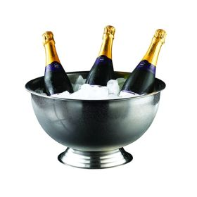 Genware Stainless Steel  Champagne Bowl 38cm