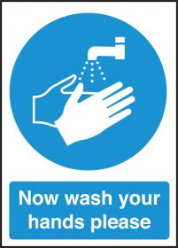 Now wash your hands please. 300x200mm. S/A