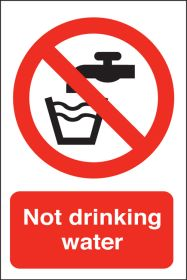 Not drinking water. 150x100mm. S/A