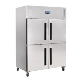 Polar CW196 Upright Double Stable Door Gastro Freezer 1200Ltr