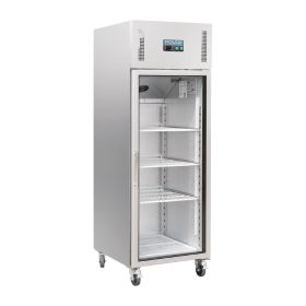 Polar CW197 Upright Glass Door Gastro Refrigerator 600Ltr