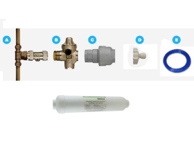 Self Install Kit For All Borg & Overstrom Water Dispenser Units
