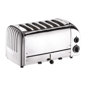 Dualit 6 Slice Vario Toaster Stainless Steel 60144