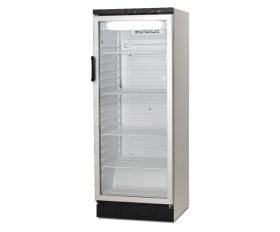 Vestfrost FKG311 Upright Glass Door Display Fridge 306L