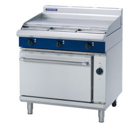 Blue Seal E56A - Electric 6 Burner Range with Convection Oven W900mm