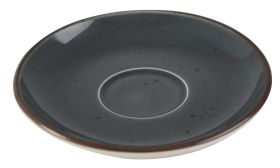 Orion Elements Slate Grey Saucer 14cm EL11GR (For Coffee Cup EL10GR)