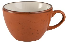 Orion Elements - Sun Burst Orange Cappuccino Cup - 285ml EL12SB