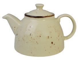 Orion Elements Teapot 800ml Sandstorm Cream EL30SA