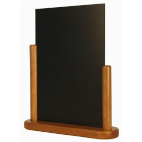 Chalk Table Board 21X30cm Large Teak - Genware