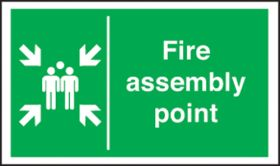 Fire assembly point. 400x600mm S/A