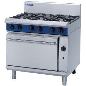 Blue Seal G506D - Gas 6 Burner Range - Hob