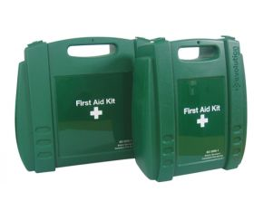 British Standard Compliant Workplace First Aid Kit 1-10 people Small