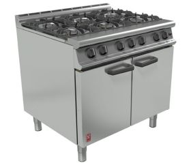 Falcon Dominator Plus G3101 - 6 Burner Commercial Gas Range - Natural Gas