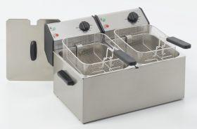 Roller Grill FD80D Double Countertop Fryer 8L