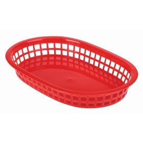 Fast Food Basket Red 27.5 x 17.5cm - Genware