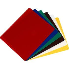 6 Colour Flexible Chopping Board Set - Genware