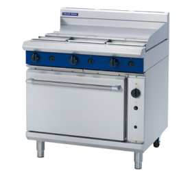 Blue Seal Evolution G56A - Gas Range, 600mm Griddle with Gas Convection Oven 900mm - LPG Gas