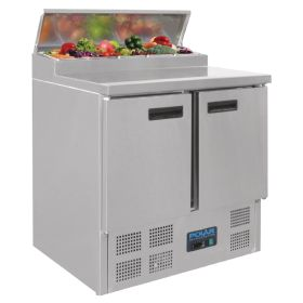 Polar G604 - Refrigerated Pizza and Salad Prep Counter - 254Ltr