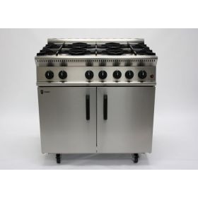 Parry GB6 Gas 6 Burner Range - Natural Gas