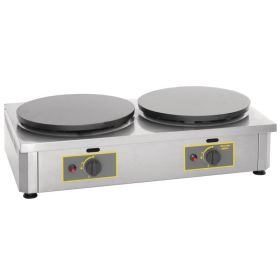 Roller Grill 400CDG Double Crepe Maker / Griddle - LPG Gas