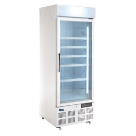 Polar GH506 Display Freezer with Light Box 412Ltr