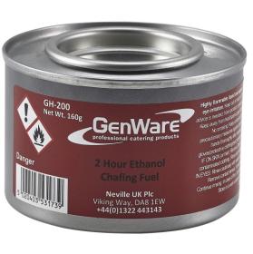 Gen-Heat GH-200 Ethanol Chafing Fuel 2 Hour