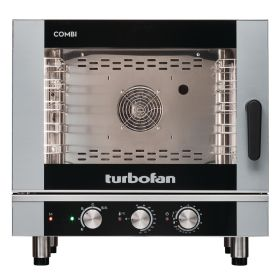 Blue Seal Turbofan EC40M5 Manual Electric 5 Grid Combination Oven