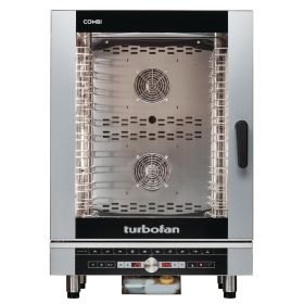 Blue Seal Turbofan EC40D10 Digital Electric 10 Grid Combination Oven