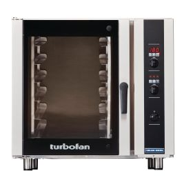 Blue Seal Turbofan E35D6 - Electric Convection Oven 6 Tray Digital