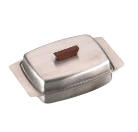 Butter Dish  Wooden Knob