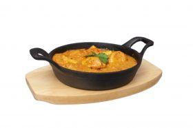 Cast Iron Round Sizzle Dish 15cm