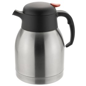 Vacuum Jug 1.5 Litre - Push Button Stainless Steel