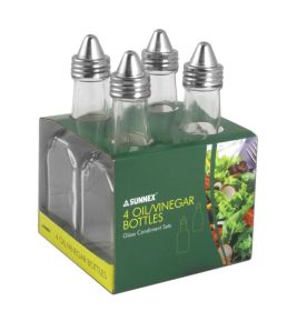 Oil / Vinegar Bottles (Pack Of 4)